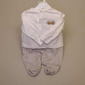 🆕Little Peanut Baby Top Pant Set Outfit NWT